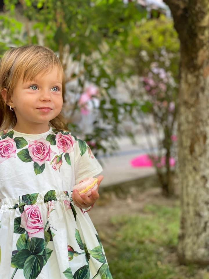 Eva Maria, fiica fostului politician, Elena Udrea