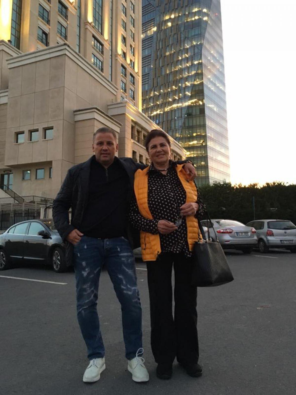 Ciprian Cernea, alături de mama sa, celebra Irina Loghin