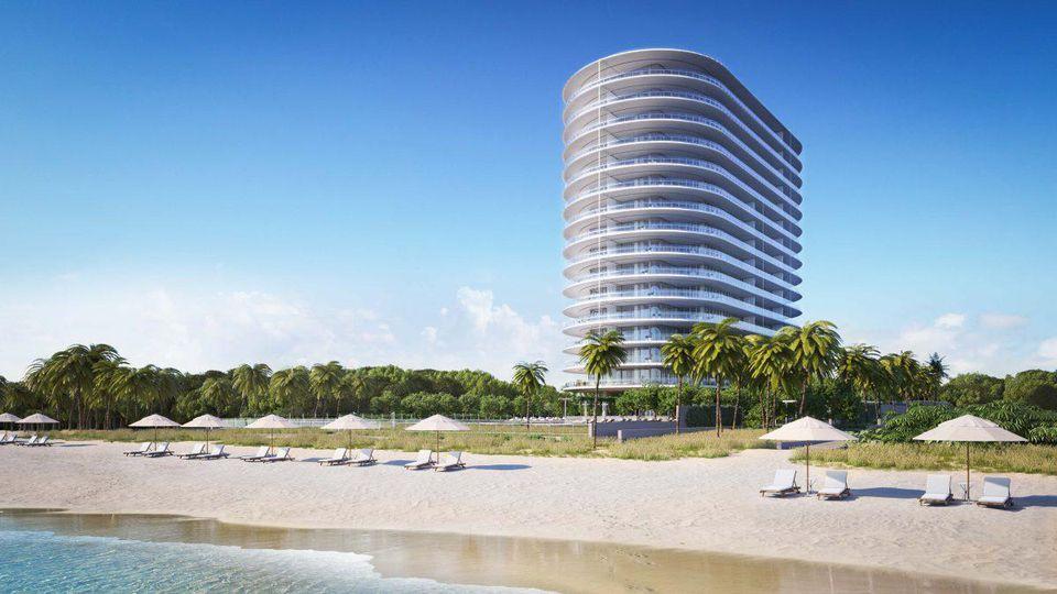 Imobilul e chiar pe plajă. FOTO: EIGHTY SEVEN PARK