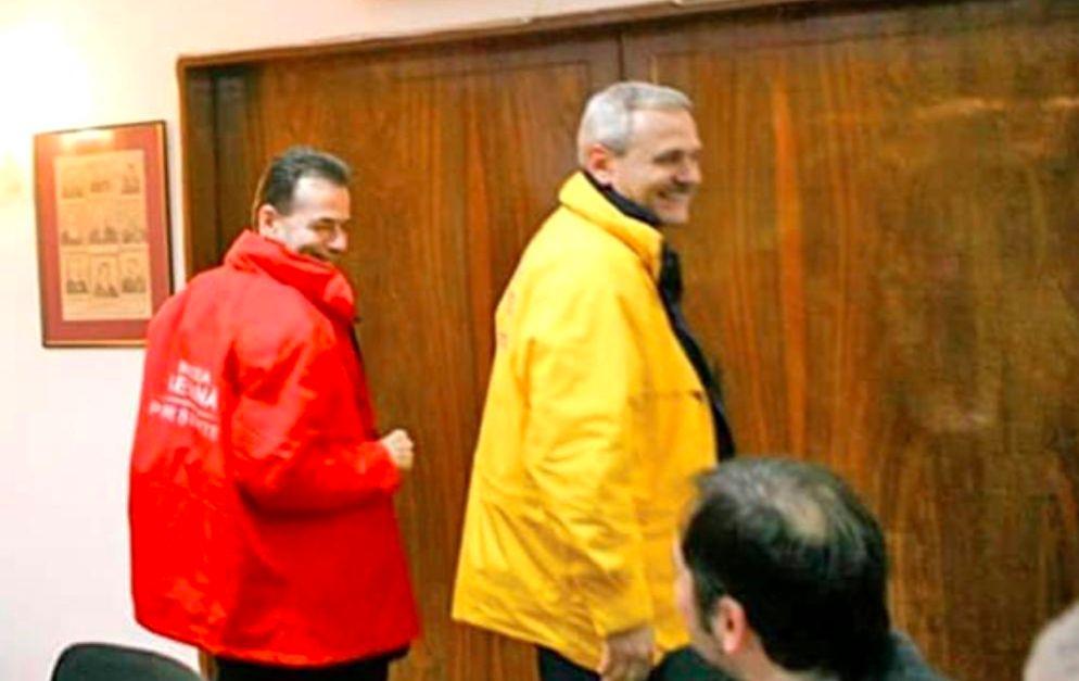 Ludovic Orban, pe vremea când făcea schimbi de geci cu Liviu Dragnea