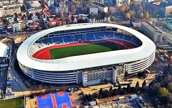 Asa va arata noul stadion din Oradea. Sursa foto: oradeapress.ro