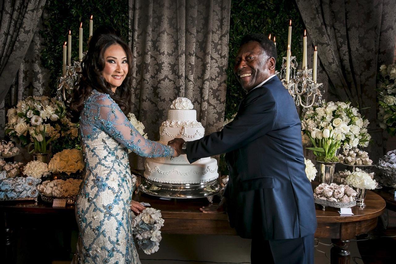 Pelé si atreia sotie, Marcia Cibele Aoki
