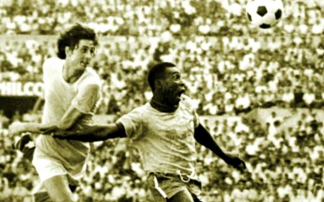 Cornel Dinu si Pelé