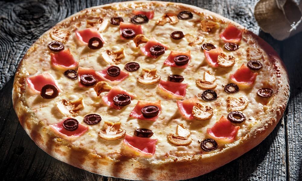 pizza de la Domino`s 1