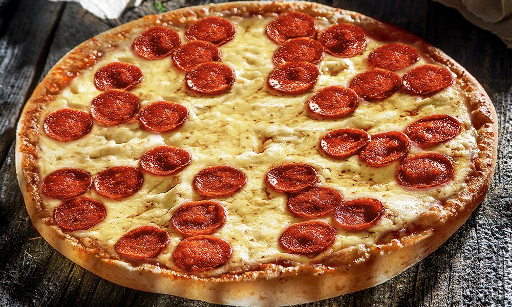 pizza de la Domino`s 6