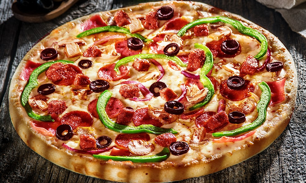 pizza de la Domino`s 8