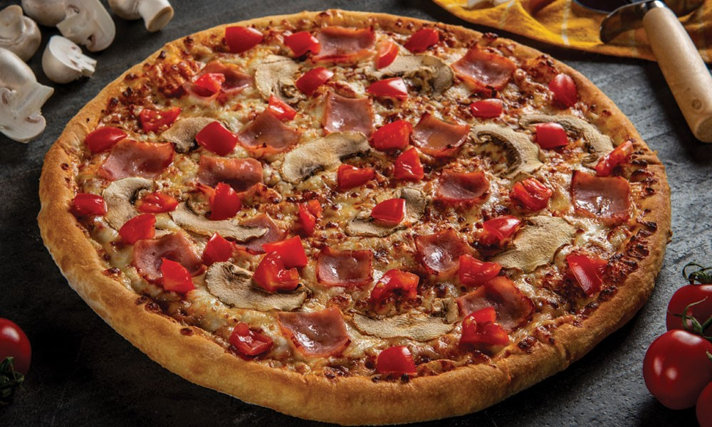 pizza de la Domino`s 9