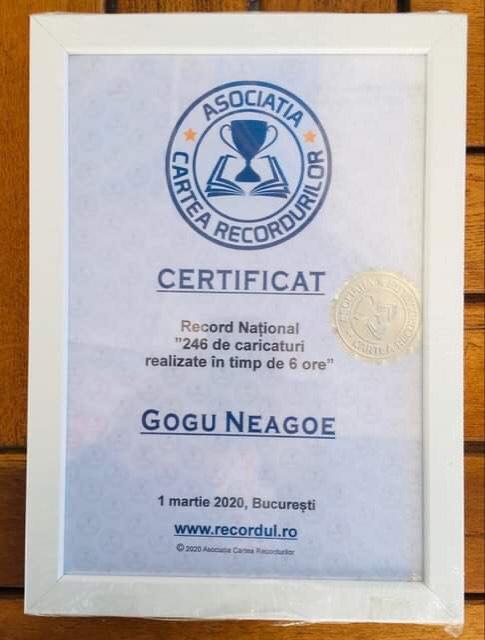 Gogu Neagoe Cartea Recordurilor