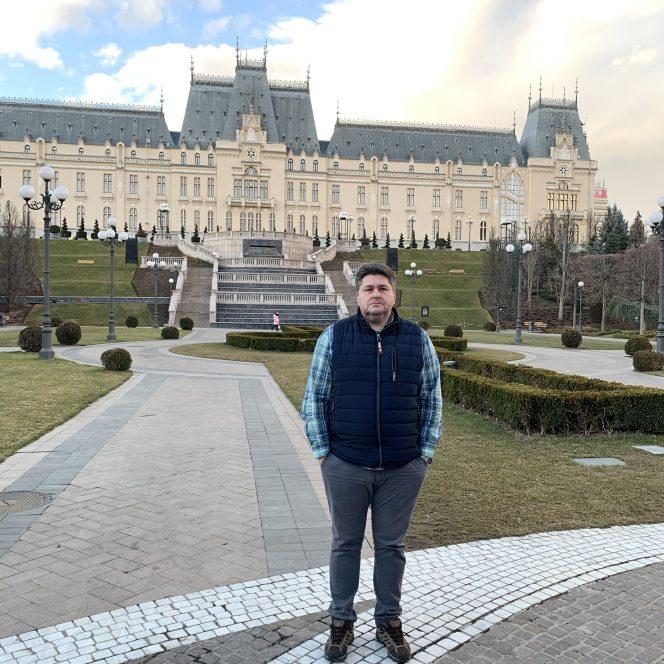 Andrei Rusu, director la baza balneoclimaterică de la Sovata (sursa arhivă personală)