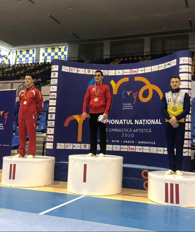 Aur pentru Marian Dragulescu la sol