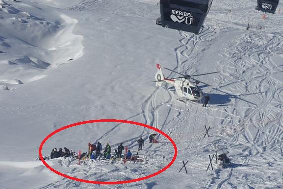 Medicii ajunşi la locul accidentului lui Schumacher