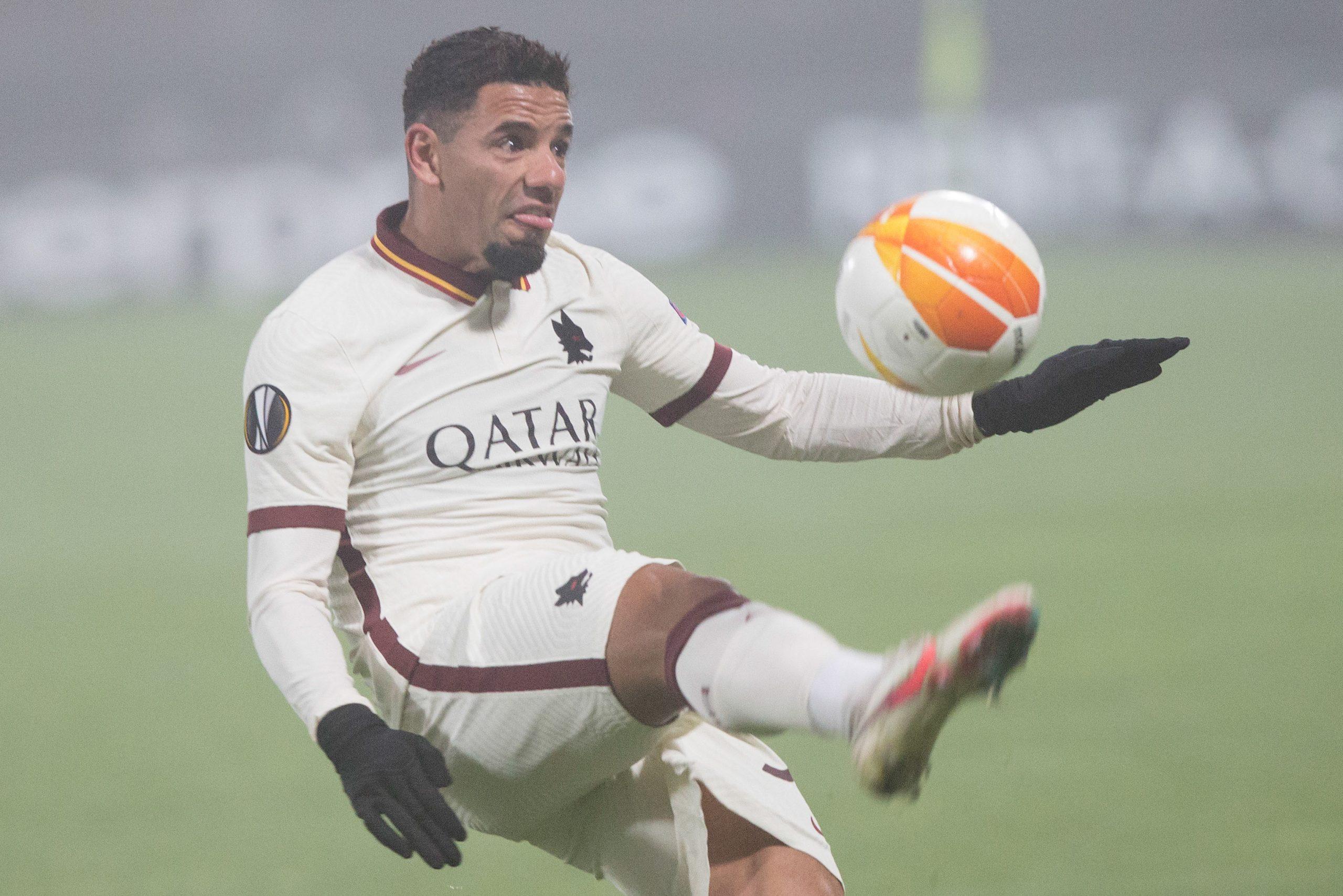 CFR Cluj - AS Roma Europa League minge fotbal INQUAM Manases Sandor