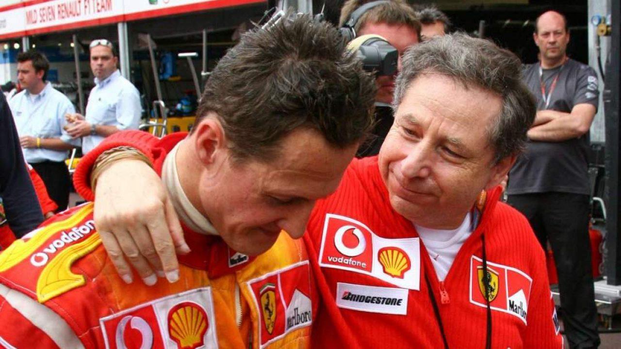 Jean Todt, alături de Michael Schumacher