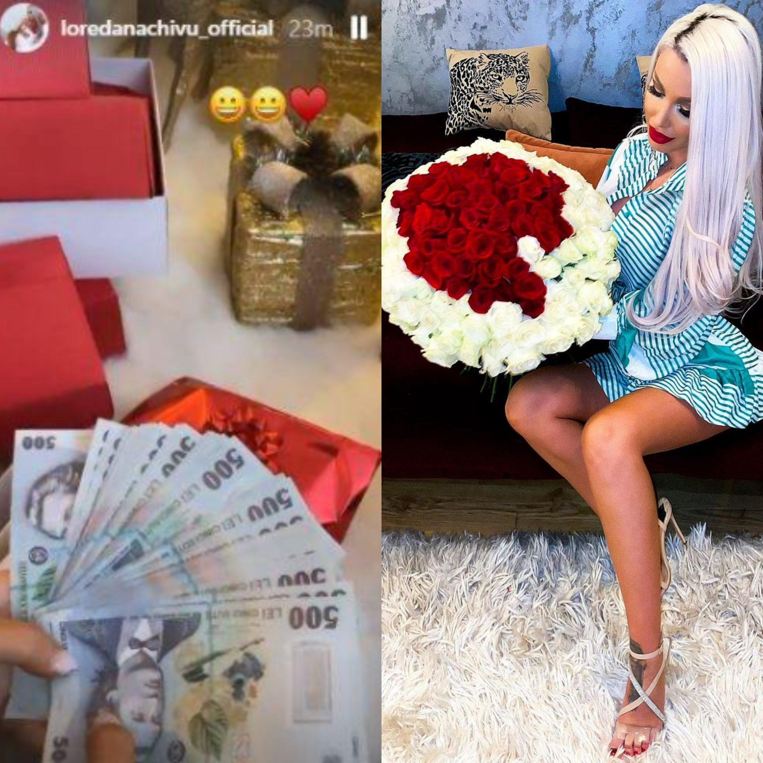 Loredana Chivu, surprinsă cu cadouri de mii de lei