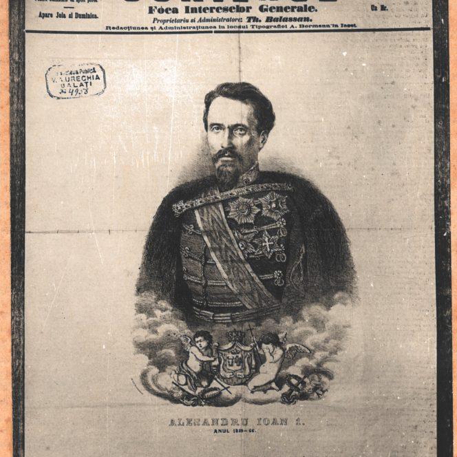 Alexandru Ioan Cuza, în publicațiile vremii (sursa arhivă personală)