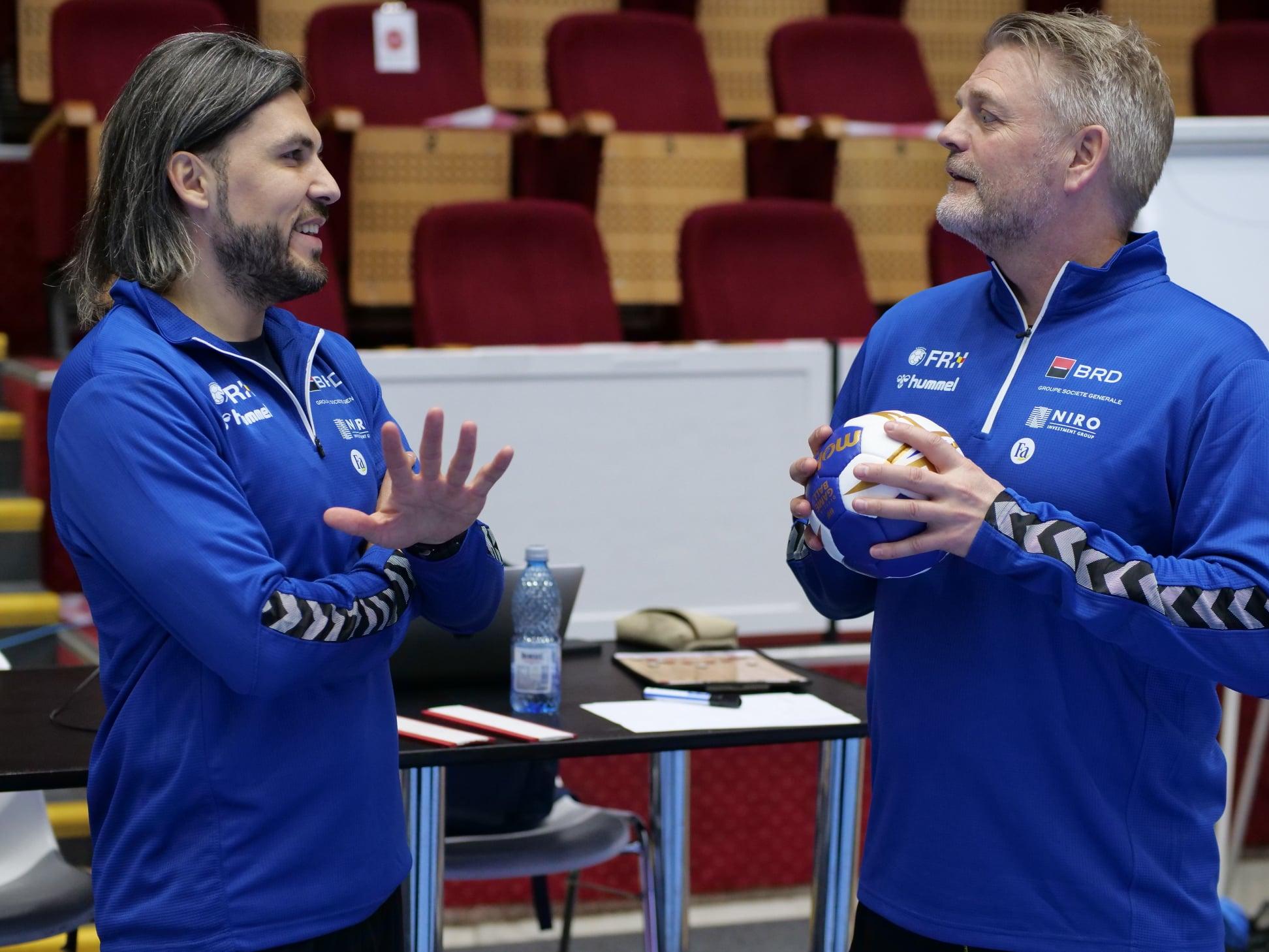 Adi Vasile și Bent Dahl