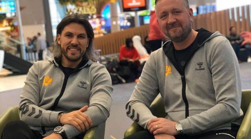 Adi Vasile și Per Johansson