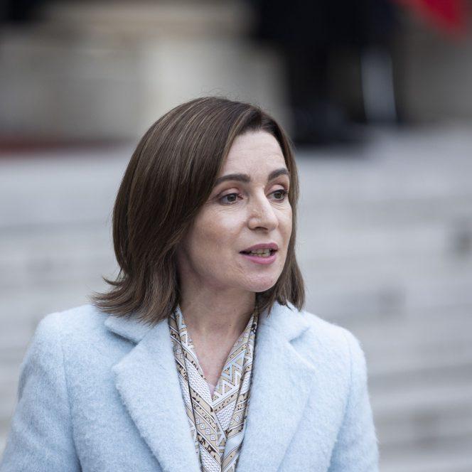 Maia Sandu, președintele Republicii Moldova sursa hepta.ro