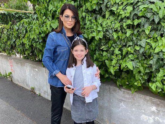 Simona Pătruleasa și Ingrid, fiica ei