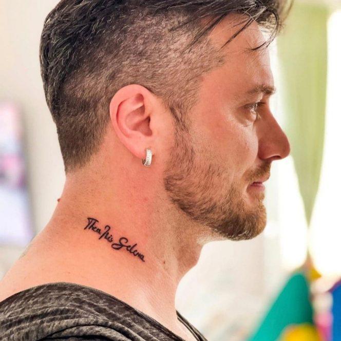 Tavi Clonda, tatuaje