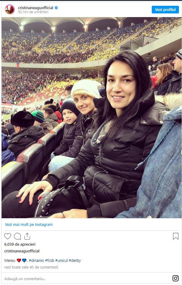 """Cristina Neagu, fan înfocat al FCSB: """"Țin cu Steaua de mică, eu cunosc o singură Steaua!"""""""
