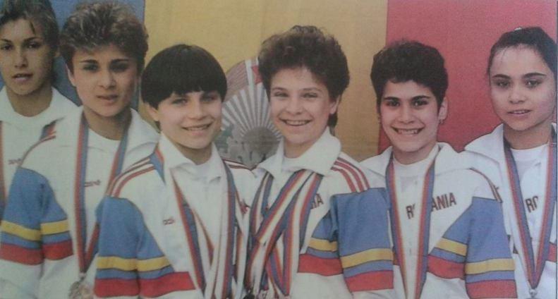 Echipa de gimnastică a României din 1988 de la JO Seul