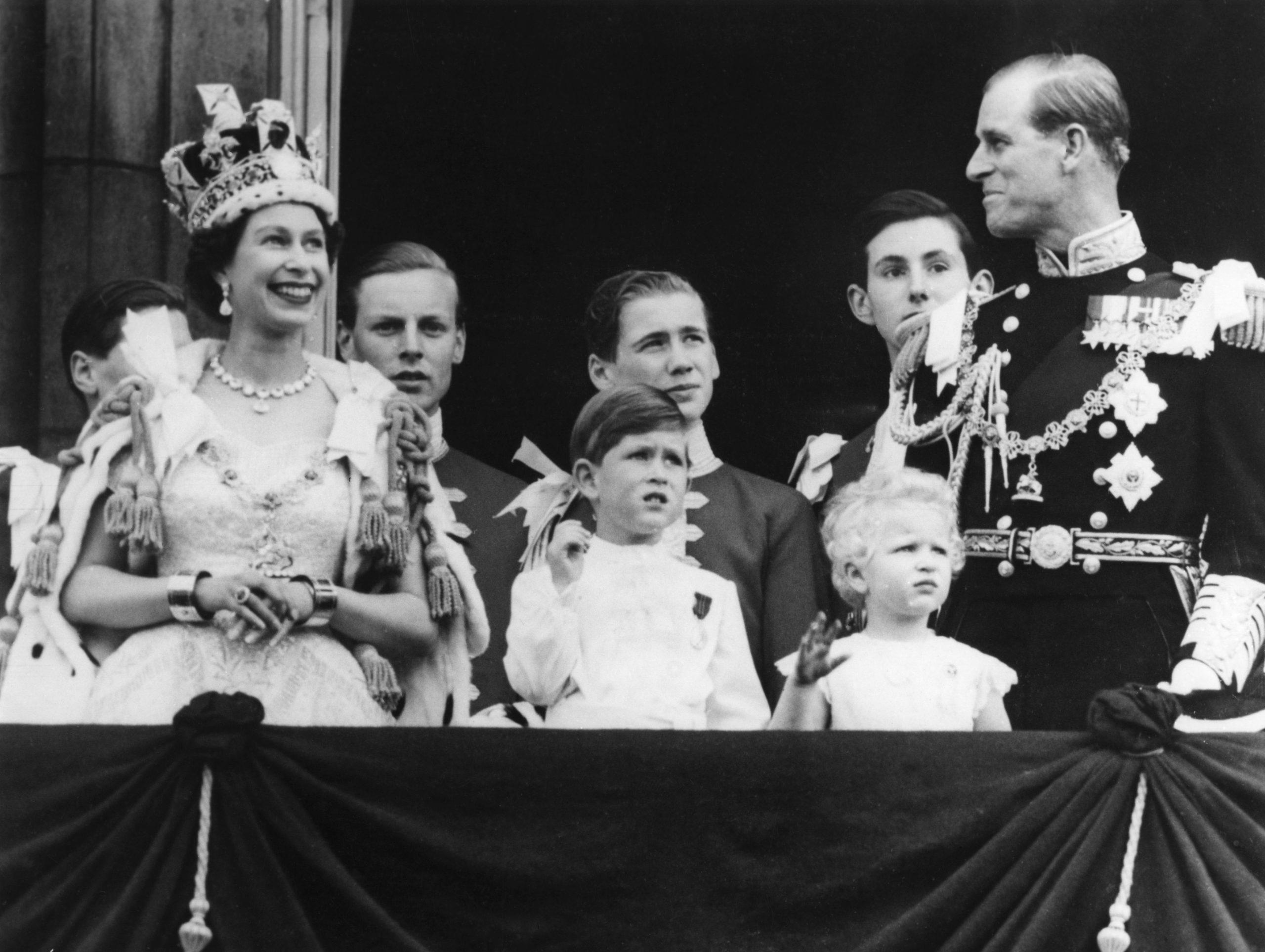 Încoronarea Reginei Elisabeta în 1953