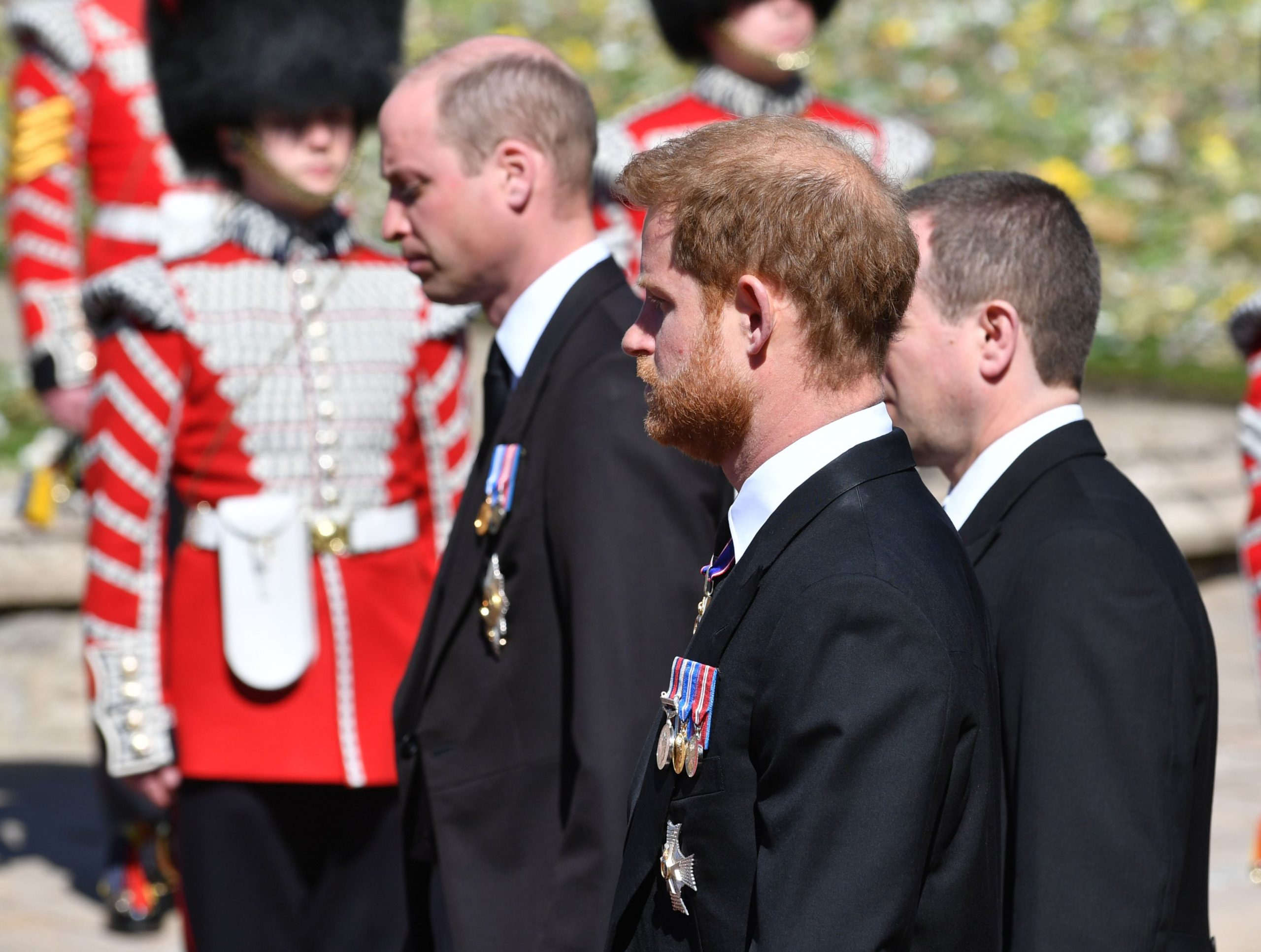 Prințul Harry, Prințul William