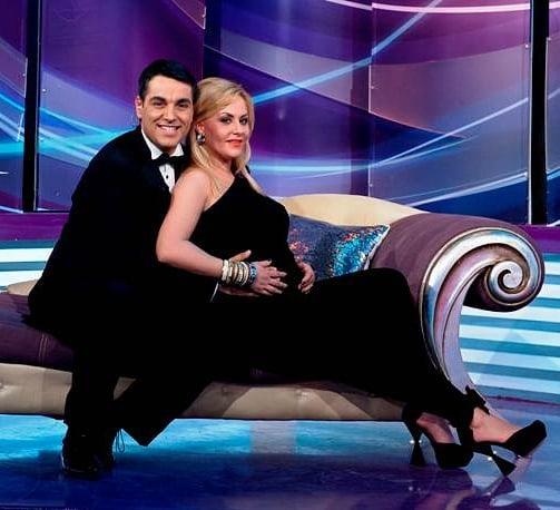 O pereche fericită Cristi Brancu și Oana Turcu (sursa facebook.com)