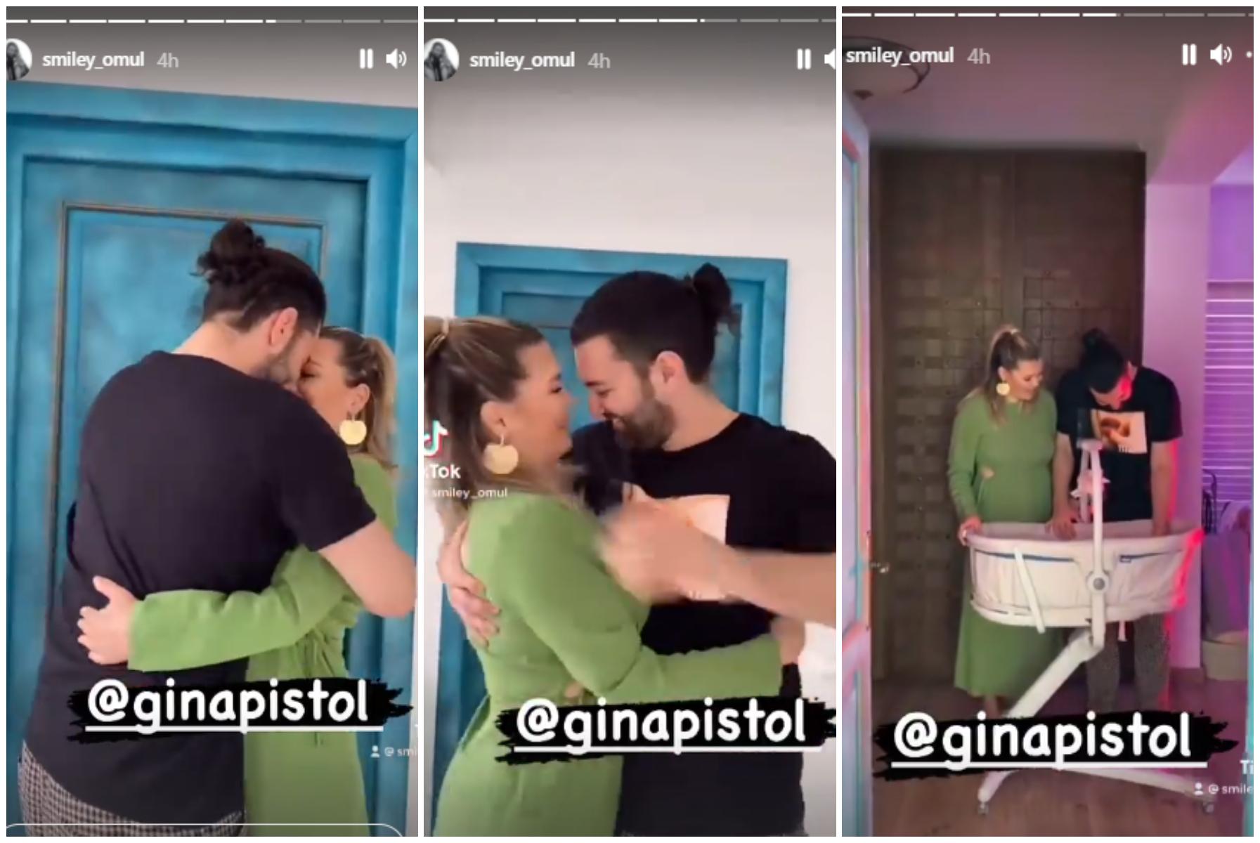 Smiley, gest romantic pentru Gina Pistol