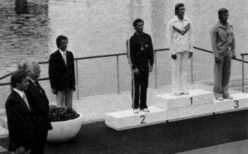 Vasile Dîba podium Montreal 1976