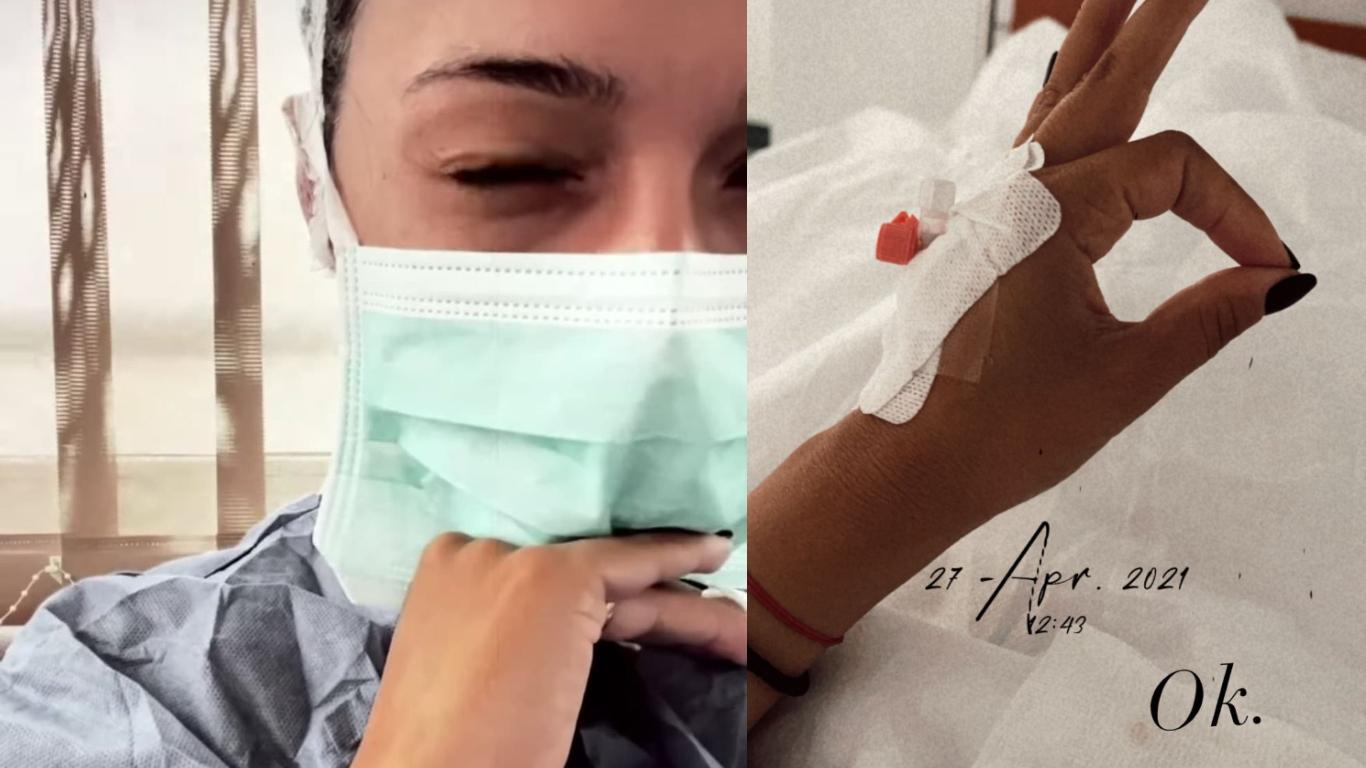 Vlăduța Lupău a ajuns de urgență la spital