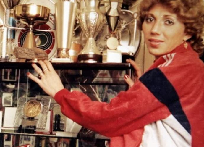 Doina Melinte şi colecţia de trofee