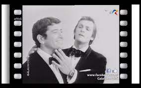 """Ion Dichiseanu și Florin Piersic, în emisiunea """"Gala Umorului Românsc"""" (sursa arhivă personală Florin Piersic)"""