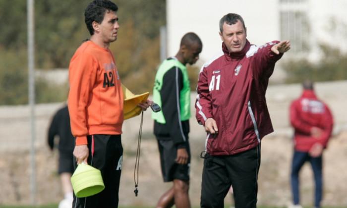 Mircea Rednic, alaturi de Marian Rada la antrenamentele de la baza Pro Rapid