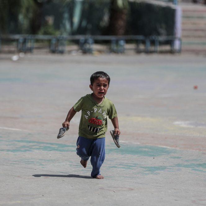 Scenele din timpul conflagrației din Fâșia Gaza au șocat întreaga lume (sursa hepta.ro)