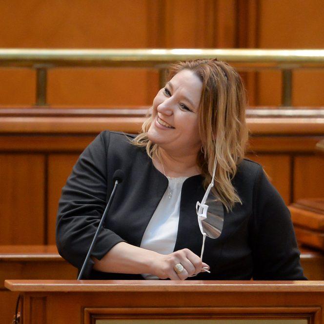 Senatoarea Diana Șoșoacă (sursa hepta.ro)