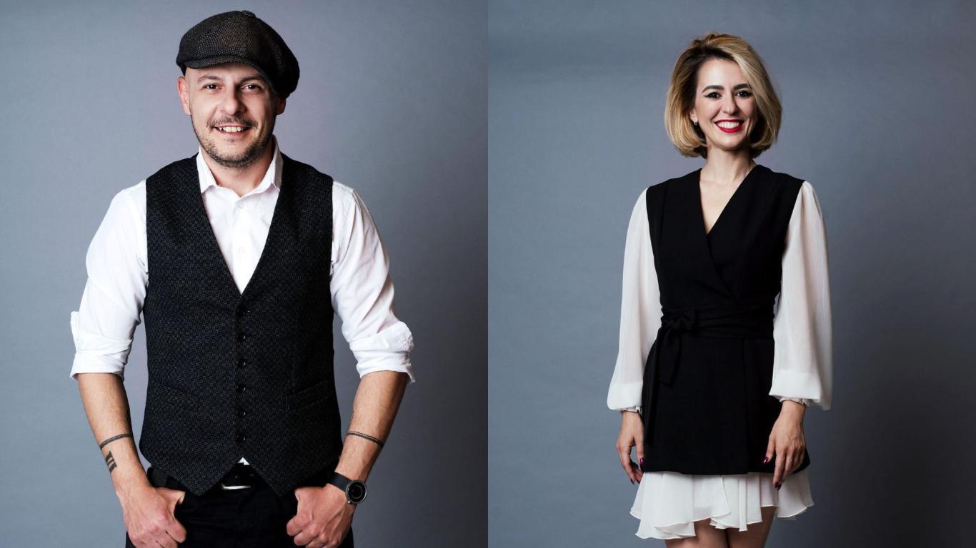 Alex Gavrilescu și Andra Marinescu, colegi la Pro TV