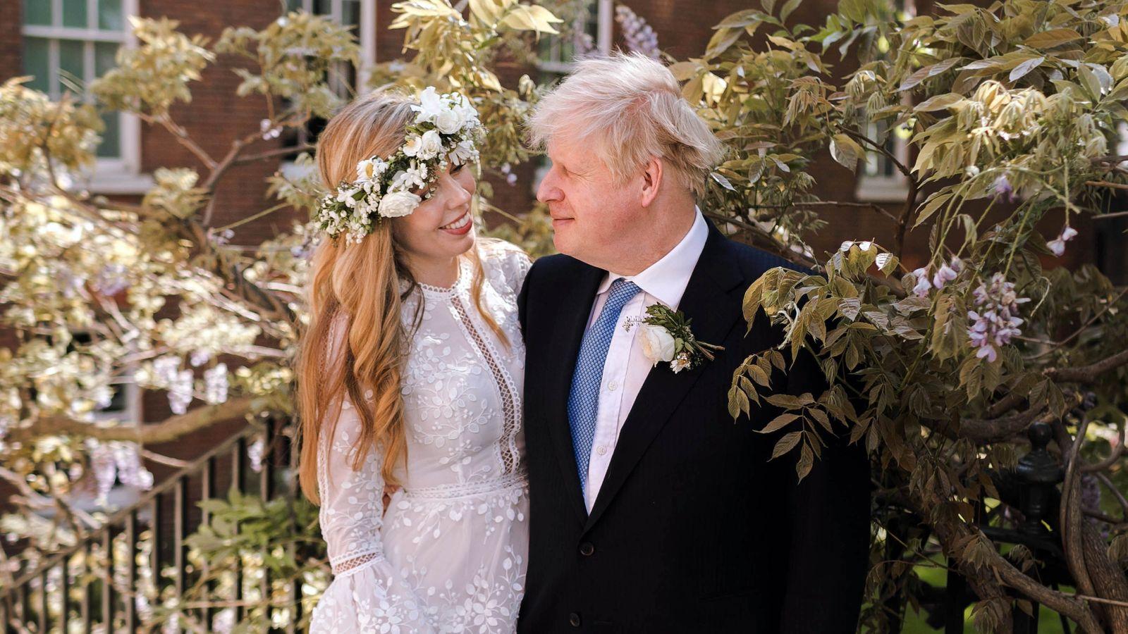 boris johnson carrie symonds căsătorie