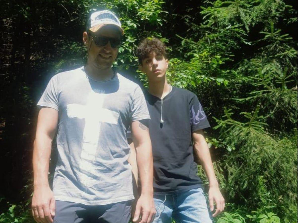 Daniel Pavel, alături de fiul lui