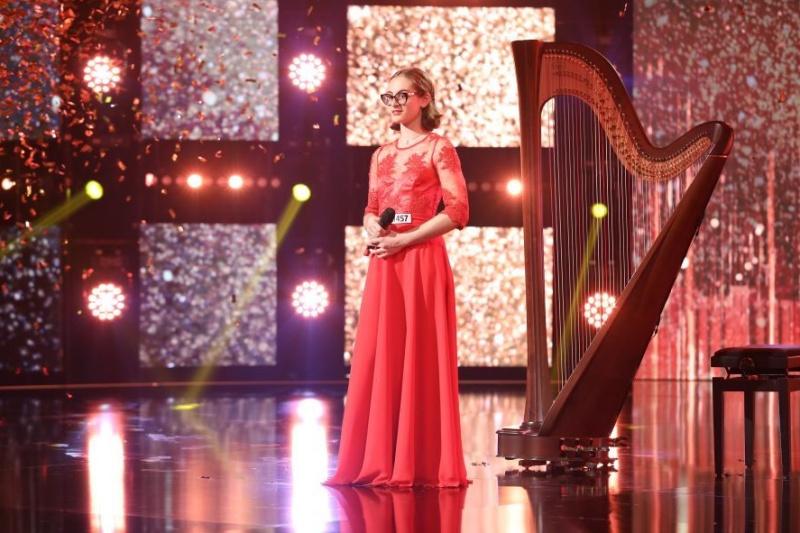 Daria Batschi la Românii au talent