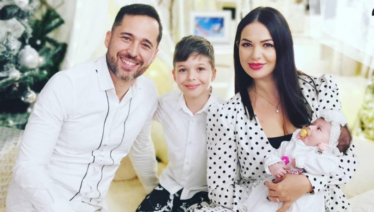 Deea și Dinu Maxer au doi copii