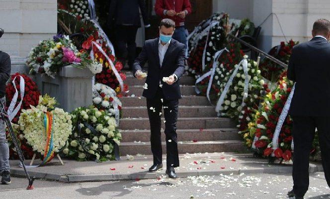 Înmormântare Ion Dichiseanu