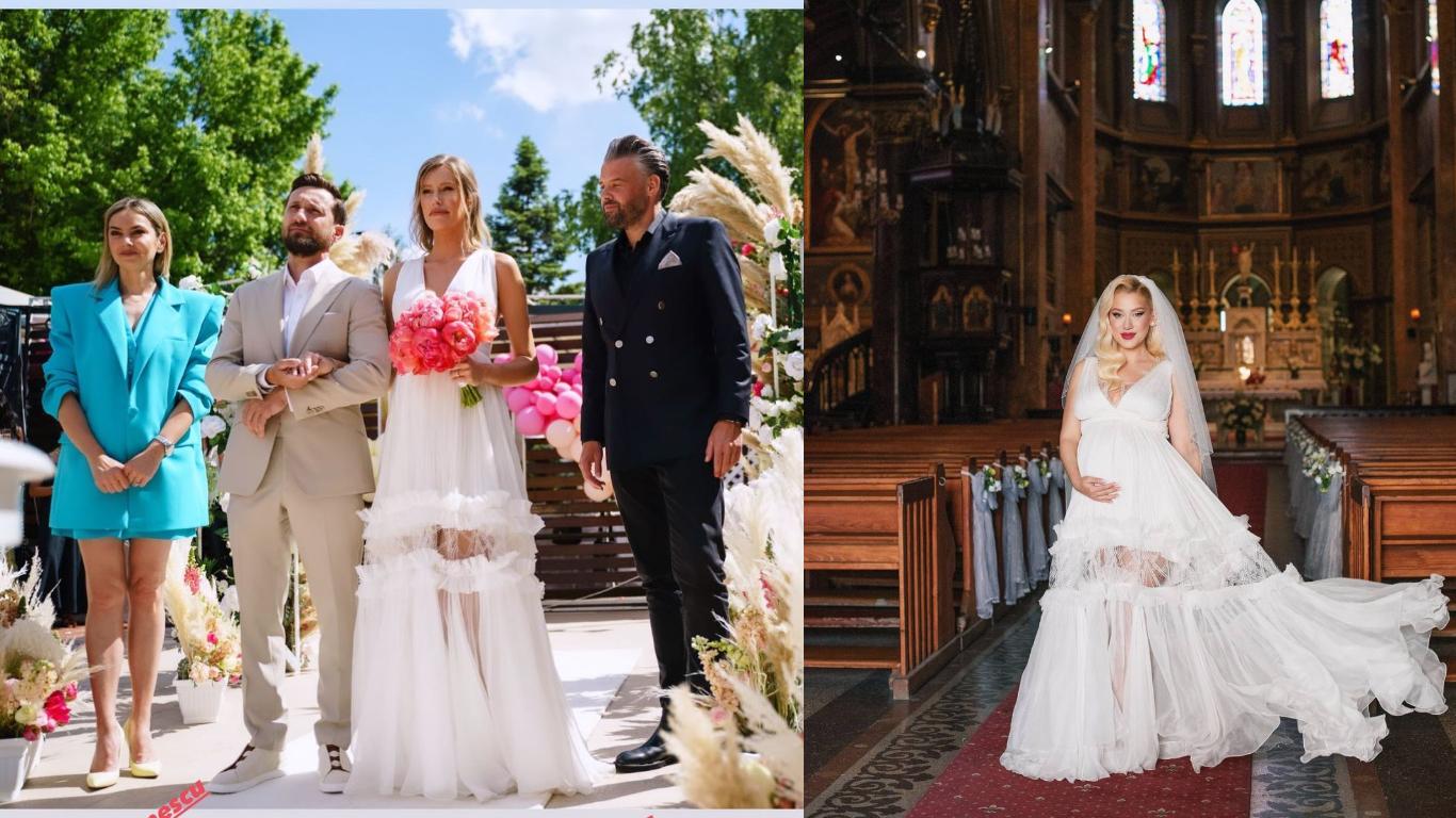 Gabriela Prisăcariu și Sînziana Sooper au purtat aceeași rochie