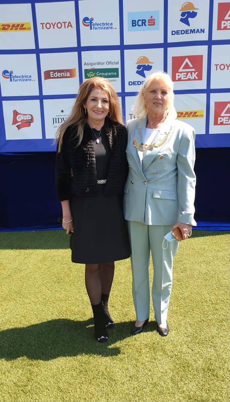 Maricica Puică şi Constantina Diţă