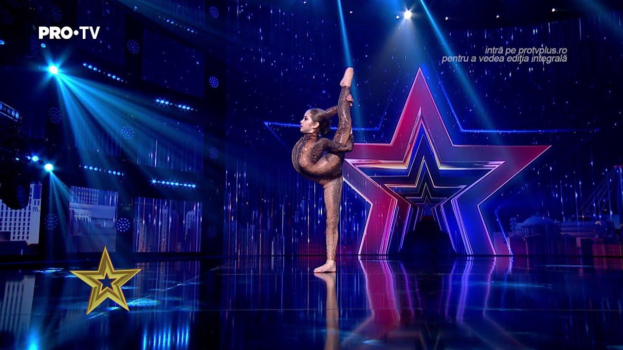 Bianca Purice la Românii au talent