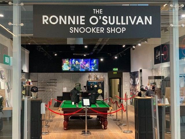 Ronnie O'Sullivan Shop