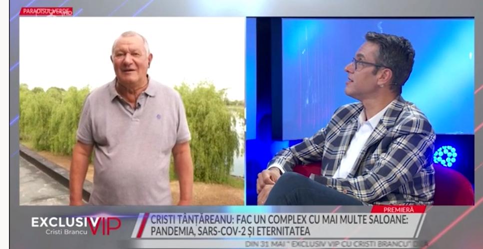 Cristian Țânțăreanu la Prima TV