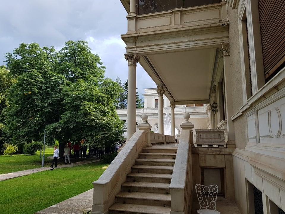 Palatul Primăverii, locul prezentării lui Xavi Pascual