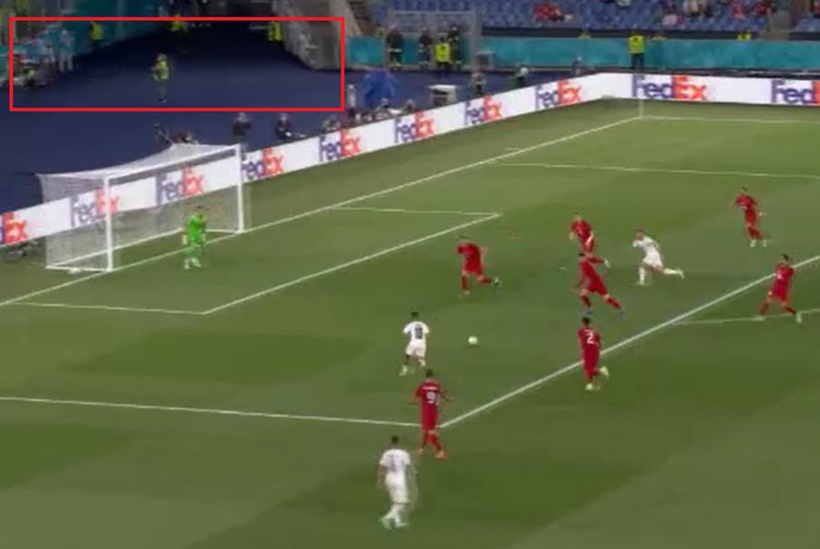 Captura de PRO TV din timpul meciului dintre Turcia si Italia. Sursa foto: captura PRO TV